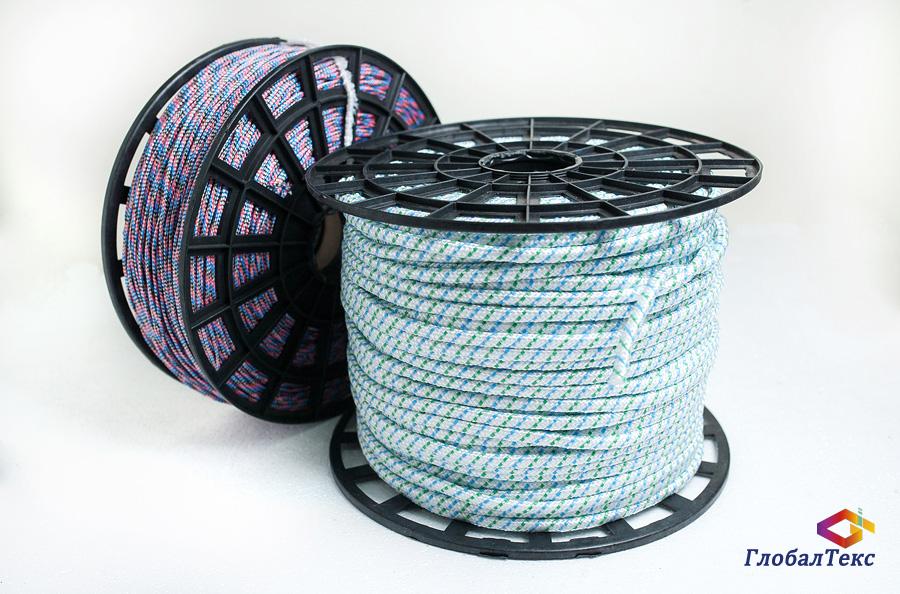 Шнур (веревка) плетеный полипропилен ПП